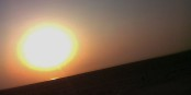 Wenn morgens die Sonne aufgeht, fühlt man sich schon wie in der Wüste... Foto: Suresh Babunair / Wikimedia Commons / CC-BY 3.0