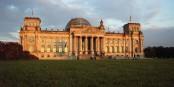"""Le Reichstag à Berlin - tout un symbole pour la """"République de Weimar"""". Foto: Marcus Vollmer / Wikimedia Commons / CC-BY-SA 4.0int"""
