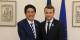 """Die neue Achse """"Tokio-Canberra-Delhi-Paris"""" ist der nächste aussenpolitische Alleingang von Emmanuel Macron. Foto: 内閣官房内閣広報室 / Wikimedia Commons / CC-BY-SA 4.0int"""