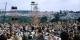 Ganz so wie 1969 in Woodstock wird es nicht werden, aber da kamen damals auch 400.000 Besucher. Schön wird's im Garten der Zwei Ufer trotzdem! Foto: James M Shelley / Wikimedia Commons / CC-BY-SA 4.0int