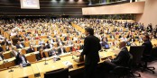 Eurodiputado Carles Puigdemont al Parlament Europeu. Foto: Generalitat de Catalunya / Wikimedia Commons / CC-BY-SA 3.0