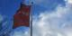Seul un vieux drapeau témoigne encore des jours meilleurs du SPD... Foto: Christian Alexander Tietgen / Wikimedia Commons / CC-BY-SA 3.0
