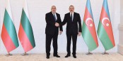 Le Premier ministre bulgare, Bojko Borissov, avec son ami le dictateur azerbaidjanais Ilham Aliyev... Foto: Presidential Press & Information Office of Azerbaidjan/Wikimédia Commons/CC-BY-SA 3.0Unp