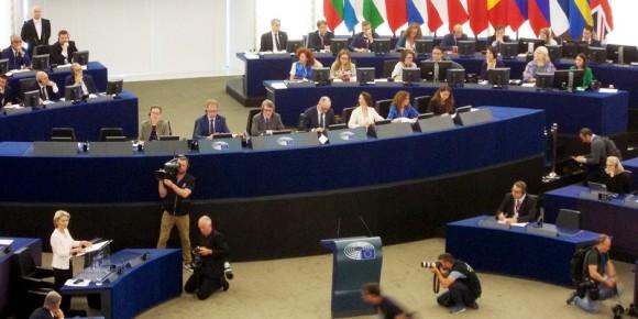 Ursula Von der Leyen, nouva Presidente della Commissione europea. Foto: Michael Magercord / EJ / CC-BY-SA 4.0int