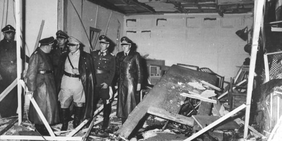 Incroyable qu'Hitler ait survécu à cette explosion. L'attentat du 20 Juillet 1944 avait échoué. Foto: Bundesarchiv / Bild 146-1972-025-10 / Wikimedia Commons / CC-BY-SA 3.0