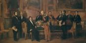 Heute sehen die Kabinettssitzungen in Paris nicht viel anders aus als zu Zeiten von Louis-Philippe I.... Foto: Claudius Jacquand / Wikimedia Commons / PD