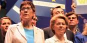 AKK et UVDL - les femmes politiques allemandes  ont des noms imprononçables... Foto: European People's Party  / Wikimedia Commons / CC-BY 2.0