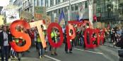 Was in aller Welt kann unsere Politiker veranlassen, FÜR das CETA zu stimmen? Aber - sie tun es... Foto: M0tty / Wikimedia Commons / CC-BY-SA 4.0int