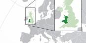 """Auf der Karte schön zu erkennen - Wales, das künftige, von Brexiteers bewohnte """"Kleinbritannien"""", der Rest der Insel bleibt in der EU. Heureka! Foto: Wikimedia Commons / CC-BY-SA 3.0"""