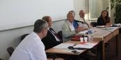 Les experts OSDEI - Philippe Padié, Nicolas Bortko, Patrick Follain, Georges Federman, Eric Fourié et Brigitte Vitale. Foto: Eurojournalist(e) / CC-BY-SA 4.0int