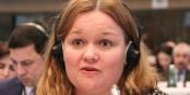 Fifi Brindacier (Pippi Langströmp) ? Non : Krista Kiuru, vice-présidente du SDP et ministre de la Communication  Foto: OSCE PA/Wikimédia Commons/CC-BY-SA 2.0Gen