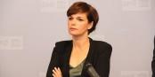 Pamela Rendi-Wagner devant une assemblée de médecins du travail  Foto: SPÖ Presse und Kommunikation/Wikimédia Commons/CC-BY-SA 2.0Gen