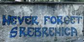 A Travnik (Bosnie-Herzégovine) : un graffiti lourd de sens dans tous les Balkans...  Foto: Dans/Wikimédia Commons/CC-BY-SA 4.0Int