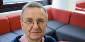 Le Professeur Tim Lang de la City University of London est une autorité en matière de politique alimentaire - et il prévoit de graves problèmes après le Brexit. Surtout pour les plus pauvres. Foto: privée