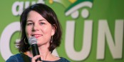 Annalena Baerbock, co-présidente des Verts (avec Robert Habeck)  Foto: Bündnis Die Grünen/Wikimédia Commons/CC-BY-SA 2.0Gen