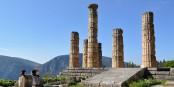 Delphes : en Grèce, on raconte que Mitsotakis consulte parfois l'oracle, discrètement...  Foto: Skhaen/Wikimédia Commons/CC-BY-SA  3.0Unp