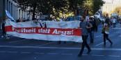 """""""La Liberté plutôt que la peur"""" : un rassemblement organisé par le collectif Unteilbar avait déjà rassemblé 240 000 personnes à Berlin, en octobre dernier ! Foto :  C.Suthorn/Wikimédia Commons/ CC-BY-SA 4.0Int"""
