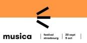 """Noch bis zum 5. Oktober gibt's Musik und Kultur beim Strassburger Festival """"MUSICA"""" - Foto: Festival Musica"""