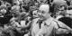 Hans-Dietrich Genscher n'a pas pu finir sa phrase le 30 septembre 1989 à Prague... Foto: Bundesarchiv / Bild 183-0228-020 Hirndorf, Heinz / Wikimedia Commons / CC-BY-SA 3.0