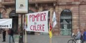 Samedi, à Strasbourg et partout en France, les sapeurs-pompiers ont exprimé leur ras-le-bol compréhensible. Foto: Eurojournalist(e) / CC-BY-SA 4.0int