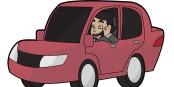 So ein Verhalten kann künftig in Frankreich den Führerschein kosten... Foto: Free Clip Art / Wikimedia Commons / CC-BY-SA 4.0int