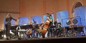 A MUSICA, jeunes compositeurs, jeunes interprètes : Natalia Salinas dirige les musiciens de la HEAR à Strasbourg  Foto : marcchaudeur