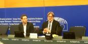 Guy Verhofstadt, le grand négociateur du Brexit, hier à Strasbourg  Foto: m.chaudeur