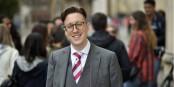 Dr. David Blunt donne son évaluation de la situation autour du Brexit. Foto: City University of London