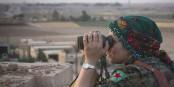 """Durch die Vertreibung der kurdischen Milizen öffnet Erdogan wieder den Weg für den """"Islamischen Staat"""". Foto: Kurdishstruggle / Wikimedia Commons / CC-BY 2.0"""