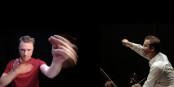 Percussionskünstler Colin Currie und Dirigent Antony Hermus. Foto: OPS Strasbourg