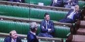 """Manuel """"ManU"""" Valls a trouvé une place au chaud au Parlement britannique... Foto: ScS EJ"""