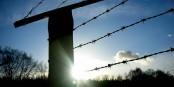 Hinter diesem Stacheldraht im KZ Stutthof starben 65.000 Menschen. Foto: User: Wtshared-Jake73 at wts wikivoyage / Wikimedia Commons / CC-BY-SA 3.0