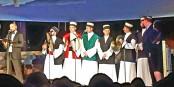 Préludes aux Sacrées Journées : l'Ensemble soufi albanais Alb Rifai, le Trio juif Zamir et un membre de l'Ensemble russe orthodoxe Kovcheg   Foto: marcchaudeur/Eurojournalist/