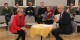 Chantal Cutajar et Quentin Urban avaient invité à une conférence sur les tags racistes et xénophobes apparus à la Fac de Droit à Strasbourg. Foto: Eurojournalist(e)