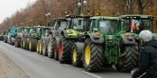 8600 tracteurs ont bloqué les routes de la capitale allemande mardi - la gronde des agriculteurs. Foto: Membeth / Wikimedia Commons / CC0 1.0