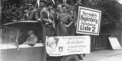 Reichstagswahl 1930 - auf dem Bild sieht man nicht die NSDAP, sondern deren Steigbügelhalter von der DNVP. Foto: Bundesarchiv / Bild 183-2006-0329-504 / Wikimedia Commons / CC-BY-SA 3.0