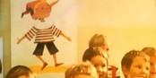 Pinocchio veille au-dessus des enfants de RDA (1973)  Foto: marcchaudeur/Eurojournalist/