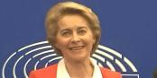Ursula von der Leyen hier à Strasbourg  Foto: marcchaudeur / Eurojournalist(e) / CC-BY-SA 4.0int