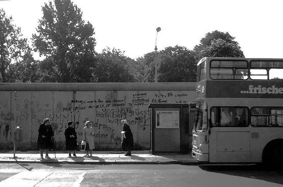 1986, lorsque le Mur était une normalité... / 1986, als die Mauer eine Normalität war... Foto: (c) Michael Magercord / ROPI