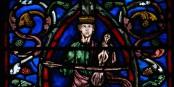 Sur l'Arbre de Jessé, à Troyes, David, premier de la lignée...  Foto : Vassil/Wikimédia Commons/CC-BY-SA/PD