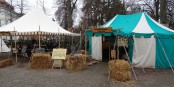 """Le """"Mittelalterliche Weihnachtsmarkt"""" à Durlach - le """"franco-allemand"""" est bien vivant sur le terrain... Foto: Jean-marc Claus / CC-BY-SA 4.0int"""