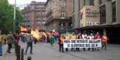 Demonstrationen gegen die Rentenpolitik gibt es fast jedes Jahr (hier - Strassburg 2010), aber dieses Mal dürfte alles deutlich schärfer ablaufen. Foto: Christina from Victoria, Canada / Wikimedia Commons / CC-BY 2.0