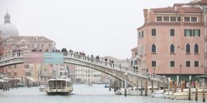 Venedig, die Stadt der Brücken, der Verbindungen und des offenen Verständnisses - kurz vor ihrer Zerstörung. Foto: (c) Bernard Guerrier 2019