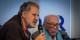 Georges Federmann lors d'un débat avec le grand écrivain Boris Pahor, résistant et ancien détenu du Struthof  Foto: Claude Truong Ngoc/Wikimédia Commons/CC-BY-SA/3.0