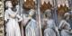""""""" Ils ne nous auront pas ! """" Le Tentateur, celui qui divise, Cathédrale de Strasbourg  Foto: Txllxt TxllxT/Wikimédia Commons/CC-BY-SA/ 4.0Int"""