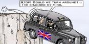 Morgen endet die Taxifahrt von Theresa May, Boris Johnson, David Cameron und den Briten - und tschüss... Foto: Markusszy / Wikimedia Commons / CC-BY-SA 4.0int
