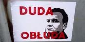 """Duda hypocrite""   Foto: Shalom/Wikimédia Commons/CC-BY-SA 4.0Int"