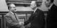 La signature du Pacte germano-soviétique en 1939 : Molotov et Ribbentrop  Foto: Kalachnikoff ¨Pobeda Dokumenty/Wikimédia Commons/CC-BY-SA/ PD
