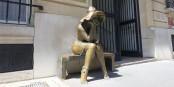 La statue devant l'Institut Hongrois de Paris  Foto: Guilhem Vellut/Wikimédia Commons/CC-BY-SA/2.0Gen