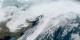 Ciara qui quittait les côtes américaines... un vrai petit monstre... Foto: NOAA GOES (16 GOES-East) Fulldisk GeoColor / Wikimedia Commons / PD